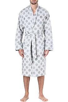 PAUL SMITH Polka dot bathing robe