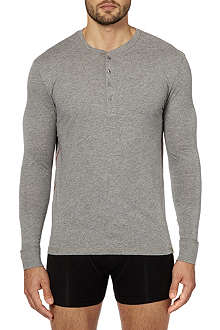 PAUL SMITH Henley lounge t-shirt