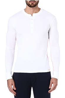 PAUL SMITH Henley cotton top