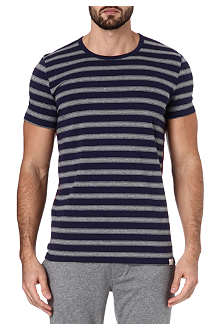 PAUL SMITH Contrast bar striped t-shirt