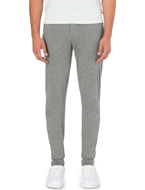PAUL SMITH Drawstring cotton-jersey jogging bottoms