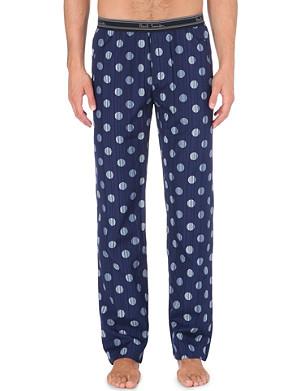 PAUL SMITH Striped polka-dot pyjama trousers