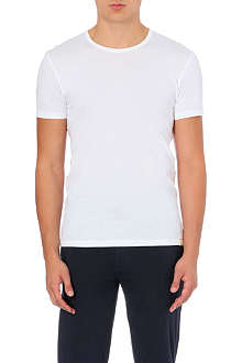 PAUL SMITH Contrast-stitch cotton-jersey t-shirt