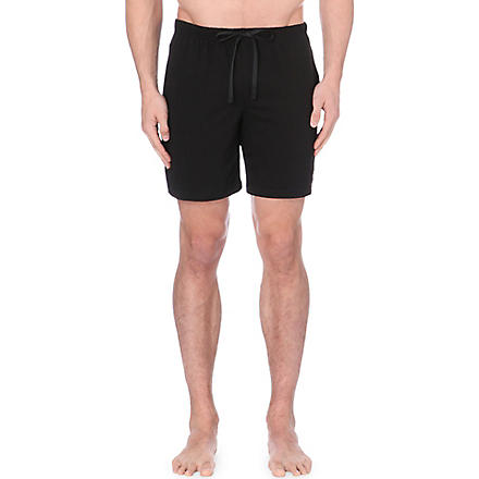 RALPH LAUREN Jersey shorts (Black