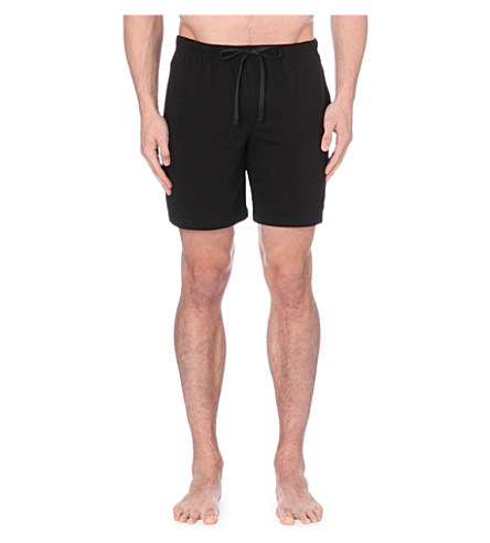 POLO RALPH LAUREN Jersey shorts (Black