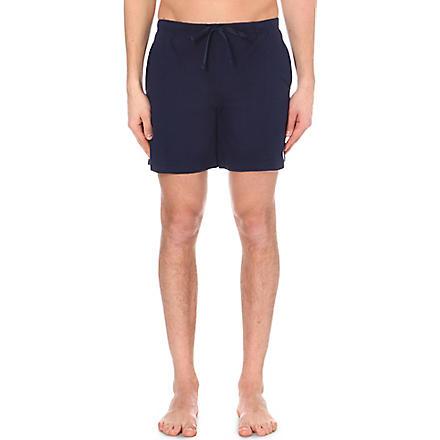 RALPH LAUREN Classic jersey shorts (Navy
