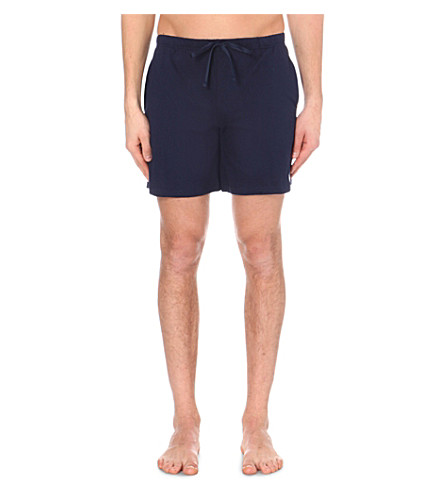 POLO RALPH LAUREN Classic jersey shorts (Navy