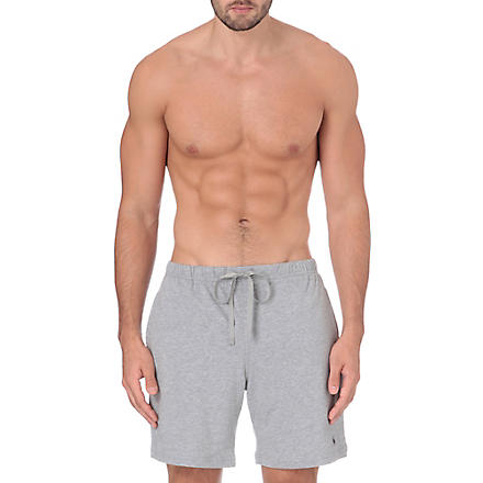 RALPH LAUREN Classic jersey shorts (Grey