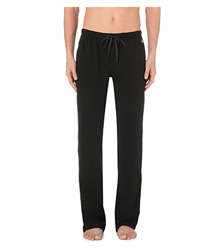 RALPH LAUREN Jersey jogging bottoms (Black