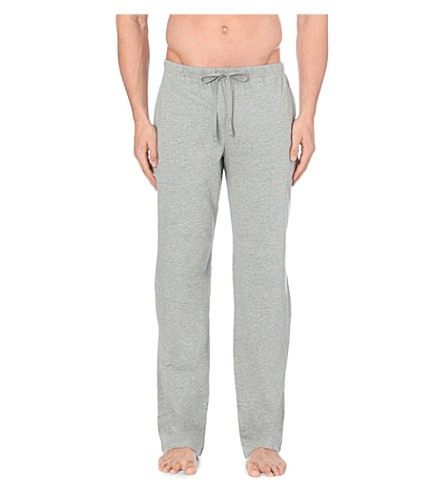 POLO RALPH LAUREN Classic jersey trousers (Grey