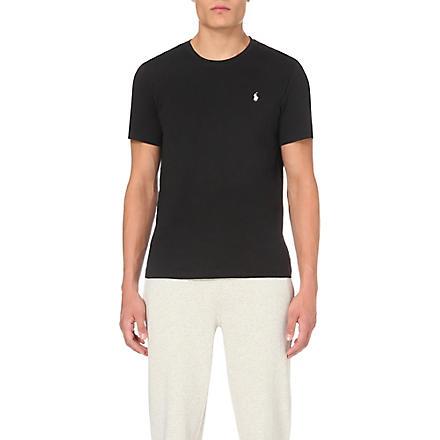 RALPH LAUREN Classic t–shirt (Black