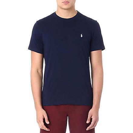 RALPH LAUREN Classic t–shirt (Navy