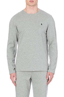 RALPH LAUREN Crew–neck top