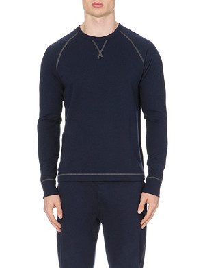 RALPH LAUREN Pullover cotton sweatshirt