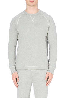 RALPH LAUREN Cotton polo sweatshirt