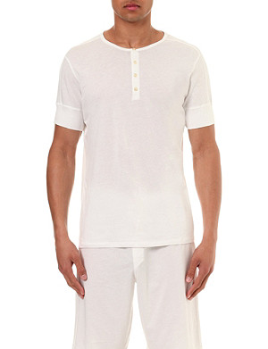 RALPH LAUREN Cotton pyjama t-shirt