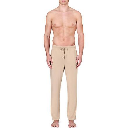 RALPH LAUREN Stretch-modal lounge trousers (Tan