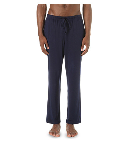 POLO RALPH LAUREN Stretch-jersey pyjama bottoms (Cruise+navy
