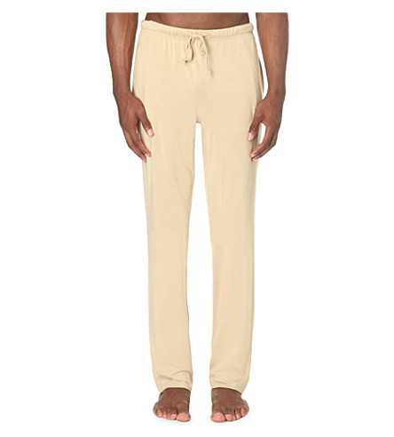 POLO RALPH LAUREN Stretch-jersey pyjama bottoms (Tan