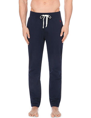 RALPH LAUREN Drawstring cotton-jersey pyjama bottoms