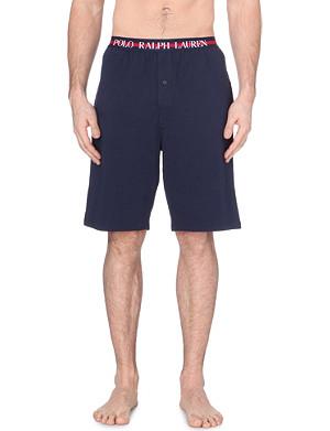 RALPH LAUREN Contrast waistband shorts