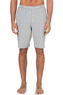 RALPH LAUREN Logo waistband pyjama shorts