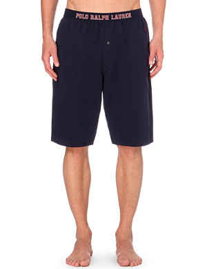 RALPH LAUREN Cotton-jersey pyjama shorts
