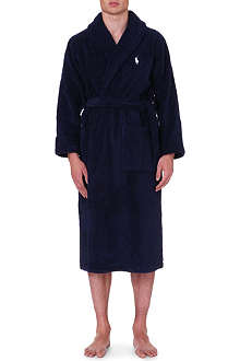 RALPH LAUREN Terry towelling robe