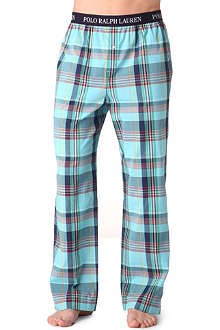 RALPH LAUREN Checked pyjama bottoms
