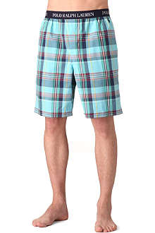 RALPH LAUREN Logo sleep shorts