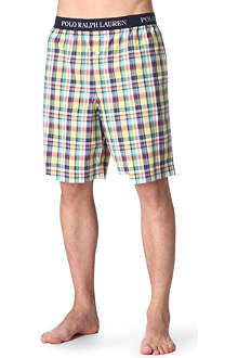 RALPH LAUREN Patterned sleep shorts