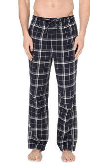 RALPH LAUREN Checked flannel pyjama bottoms