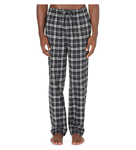 POLO RALPH LAUREN Checked flannel pyjama bottoms (Tahoe+plaid