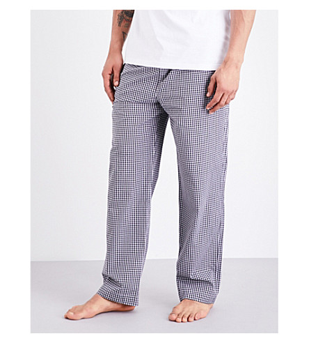 POLO RALPH LAUREN Checked cotton-poplin pyjama bottoms (Mono