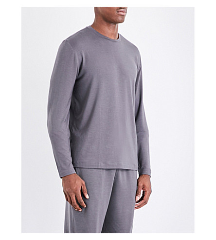 POLO RALPH LAUREN Stretch-jersey pyjama shorts (Grey
