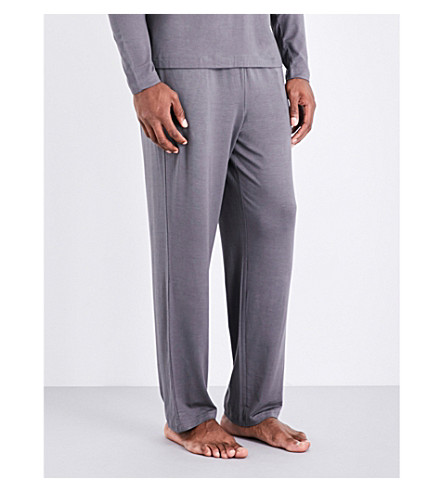 POLO RALPH LAUREN Stretch-jersey pyjama trousers (Grey