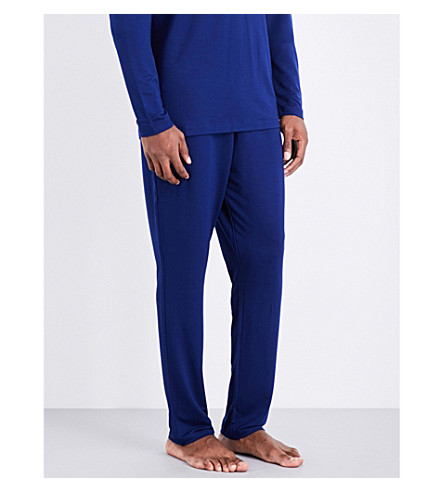 POLO RALPH LAUREN Stretch-jersey pyjama trousers (Midnight