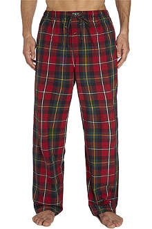 RALPH LAUREN Plaid pyjama trousers