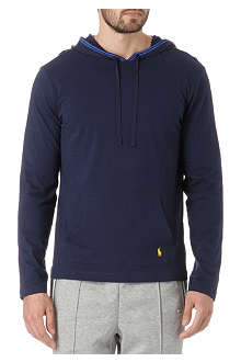 RALPH LAUREN Yellow pony hoody