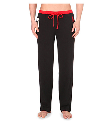 RALPH LAUREN Number 3 pyjama bottoms (Black