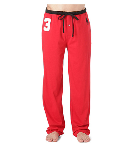RALPH LAUREN Number 3 pyjama bottoms (Red