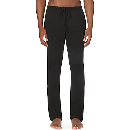 RALPH LAUREN Modal luxury pyjama trousers (Black
