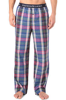RALPH LAUREN Patterned pyjama bottoms