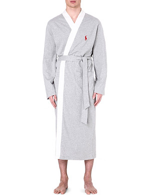 RALPH LAUREN Retro kimono robe