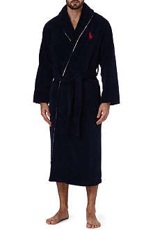 RALPH LAUREN Towelling cotton robe