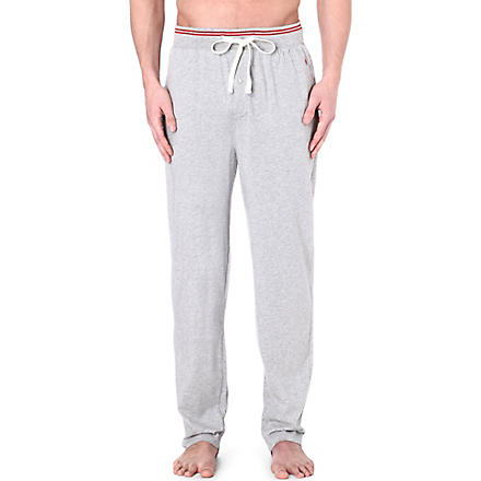 RALPH LAUREN Retro lounge pyjama trousers (Grey