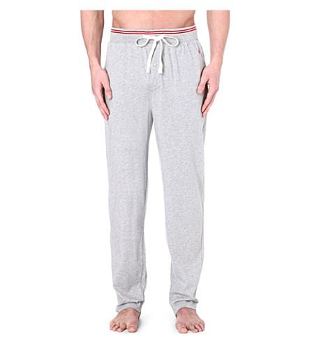 RALPH LAUREN Retro lounge pyjama trousers (Grey