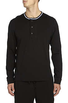 RALPH LAUREN Classic long-sleeved Henley top