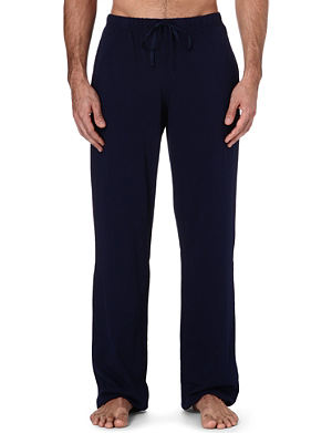RALPH LAUREN Embroidered-logo lounge trousers