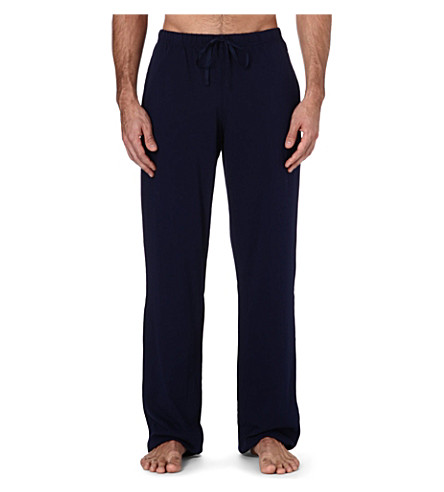 POLO RALPH LAUREN Embroidered-logo lounge trousers (Relay+blue